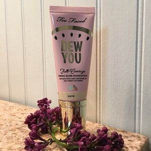 Too Faced Dew You Foundation Snow